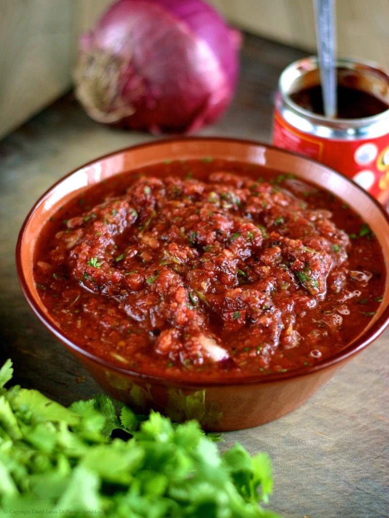DIY Chipotle Salsa