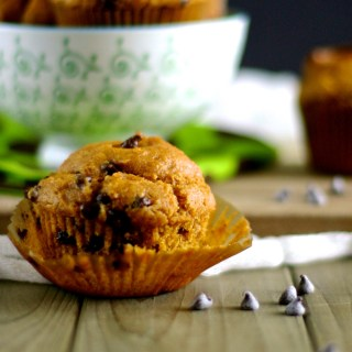 Pumpkin-Chocolate Chip Muffins