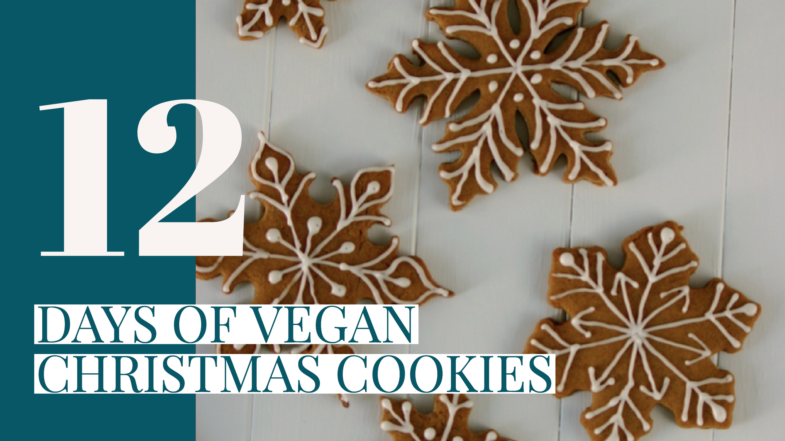 12 Day of Vegan Christmas Cookies
