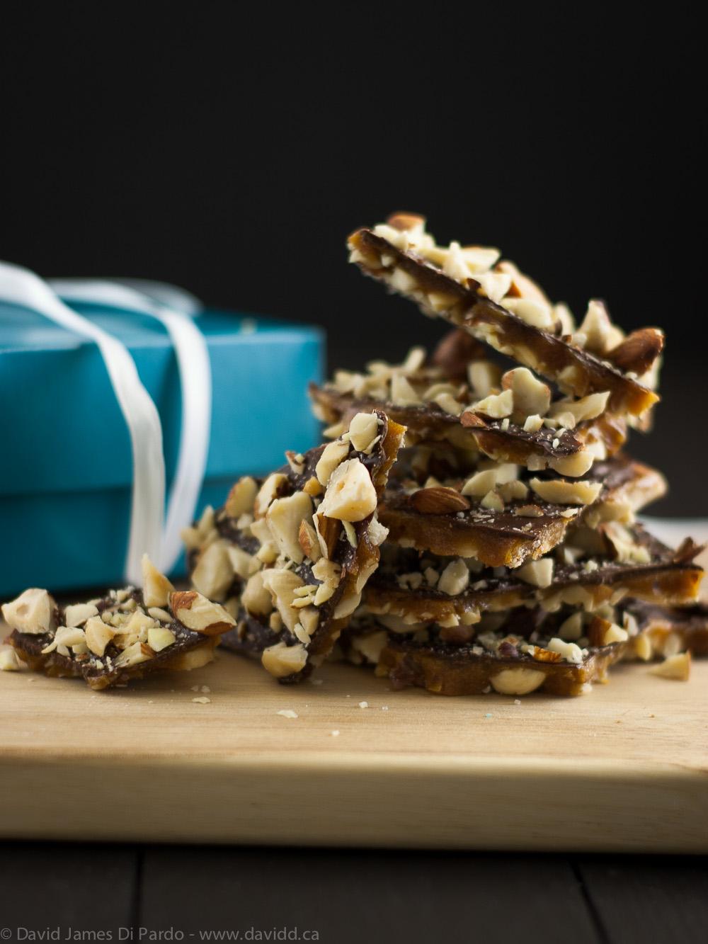 Chocolate Hazelnut Toffee