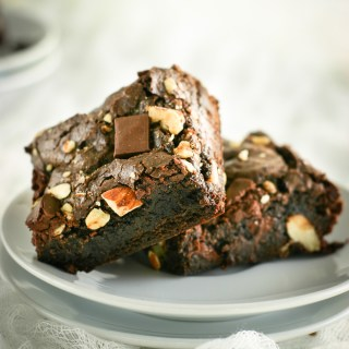 Nutty Vegan Brownies