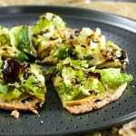 Lemon Brussels Sprout Pizzas