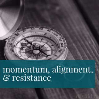 Momentum, Alignment, and Resistance