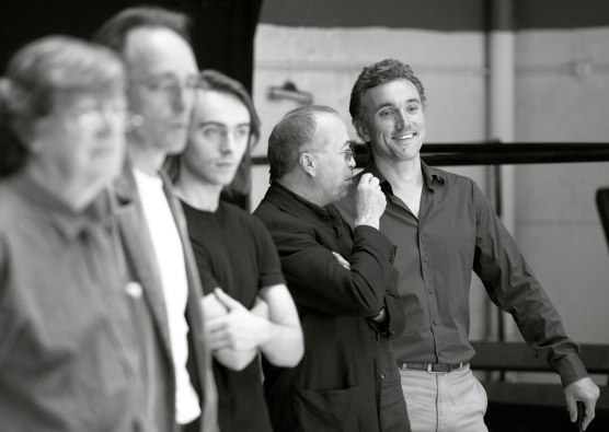Richard II Rehearsal Shot