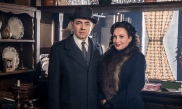 With Lucy Cohu as Madame Maigret