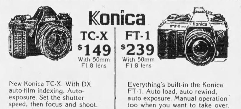 Konica TC-X SLR Review