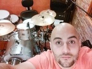 Grabación batería Jota Bejarano