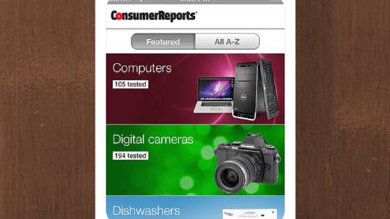 What's On My Phone Consumer Reports - David DeWolf