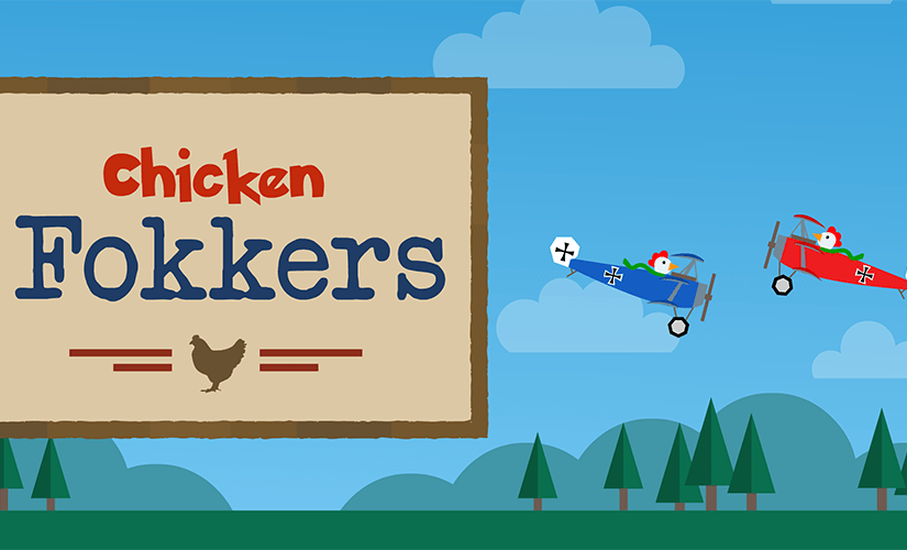 Chicken Fokkers banner
