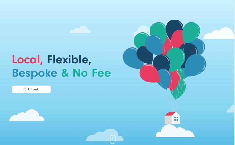 website screenshot for derbyshire mortgage services