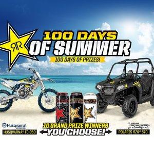 Rockstar Energy 100 Days of Summer
