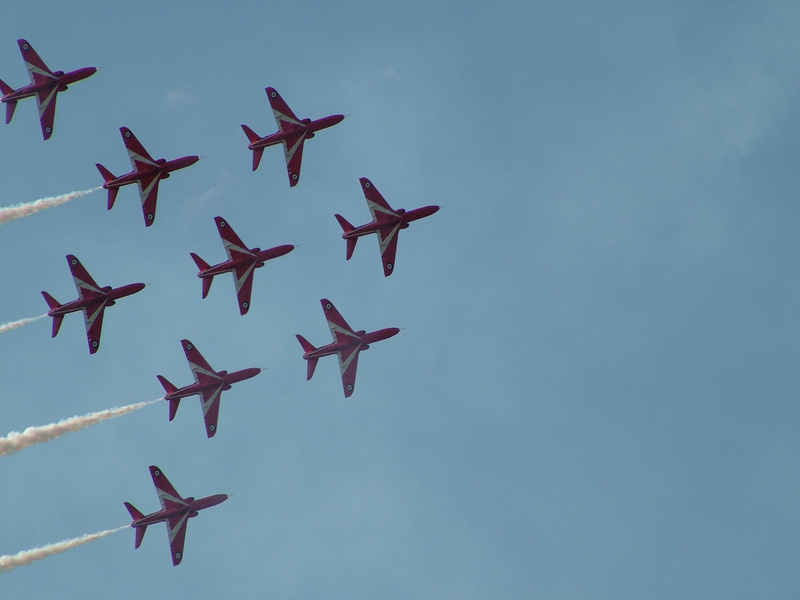 royal airforce red arrows 13
