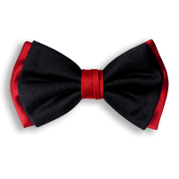 Silk Bow Tie - Men's Bow Ties | Davide Cristofaro - BLACK ...