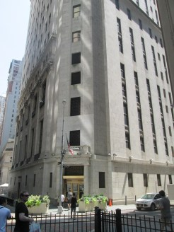 La Borsa di Wall street.
