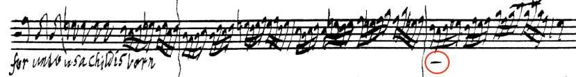 Handel Messiah autograph