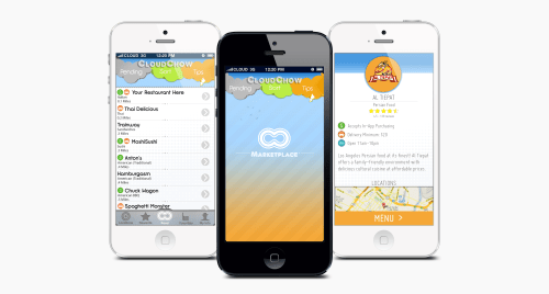 Mobile app design by David Fefferman