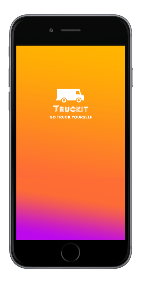 TruckIt App Splash Screen