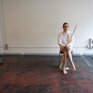 Sweep David Frankovich Performance Art