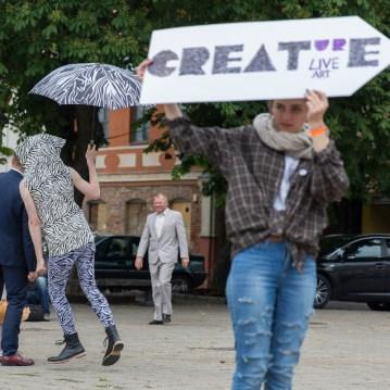 Incognito Zebra David Frankovich Performance Art