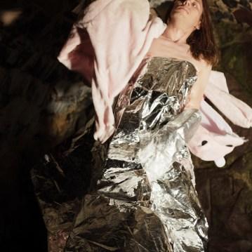Silver #2 (I Am Leaving Tomorrow) David Frankovich Performance Art