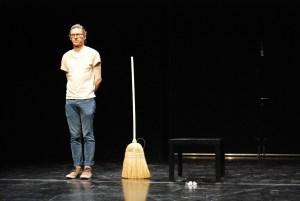 Sweep #2 (Lavender Sunset) David Frankovich Performance Art