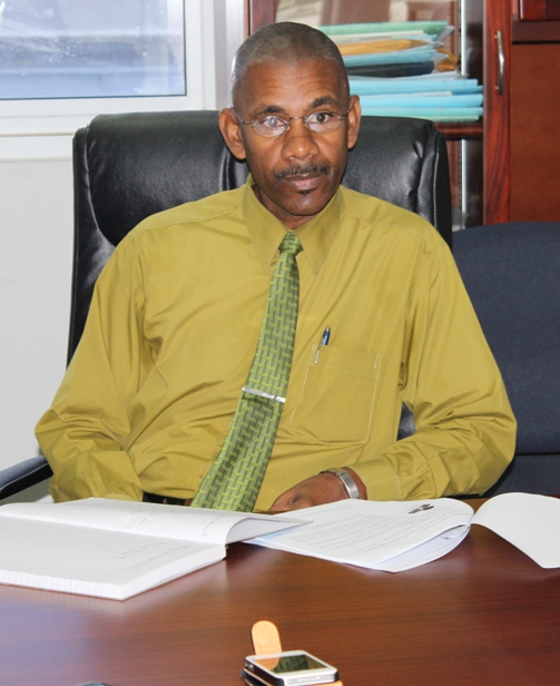 Transport Commissioner, Mr Rueben Cato. Photo courtesy David F Roberts