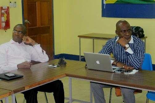 Mr Bola Akindele and Mr Femi Niyi