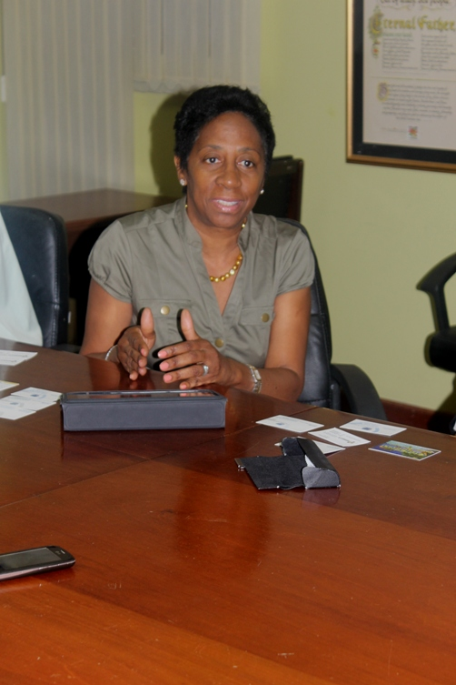 Mrs Sandra A.C. Glasgow, Chief Executive Officer , Private Sector Organisation of Jamaica