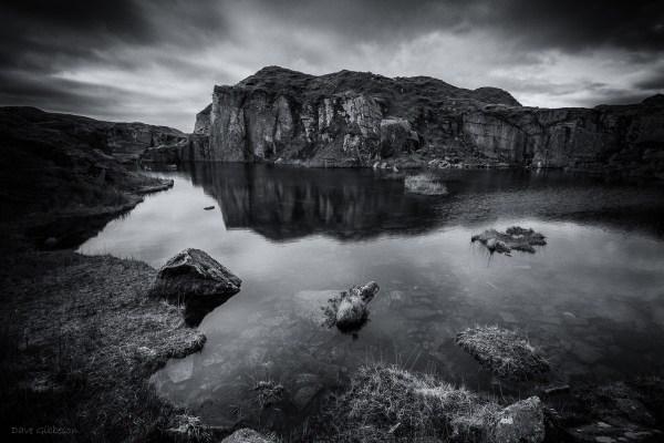 Black & White Landscape - Dave Gibbeson