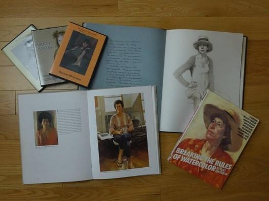 DVDs and books by portrait artist Burton Silverman