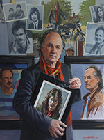 David Goatley self portrait - So Many Selves at 60