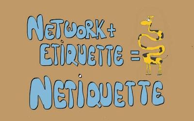 Netetiqueta en tu blog