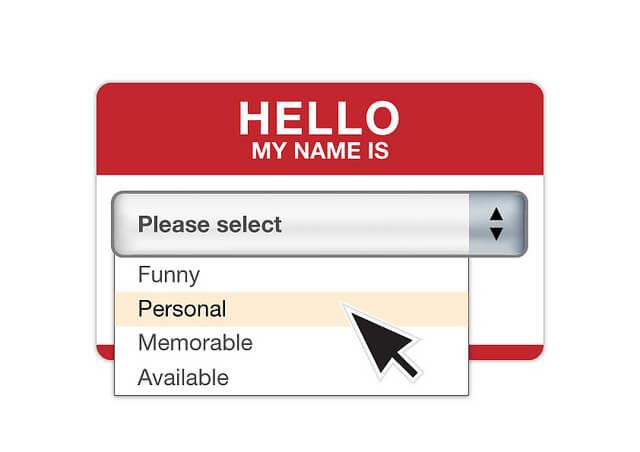 Cómo elegir el nombre para un dominio