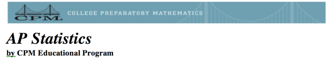 AP Statistics by CPM Educational Program