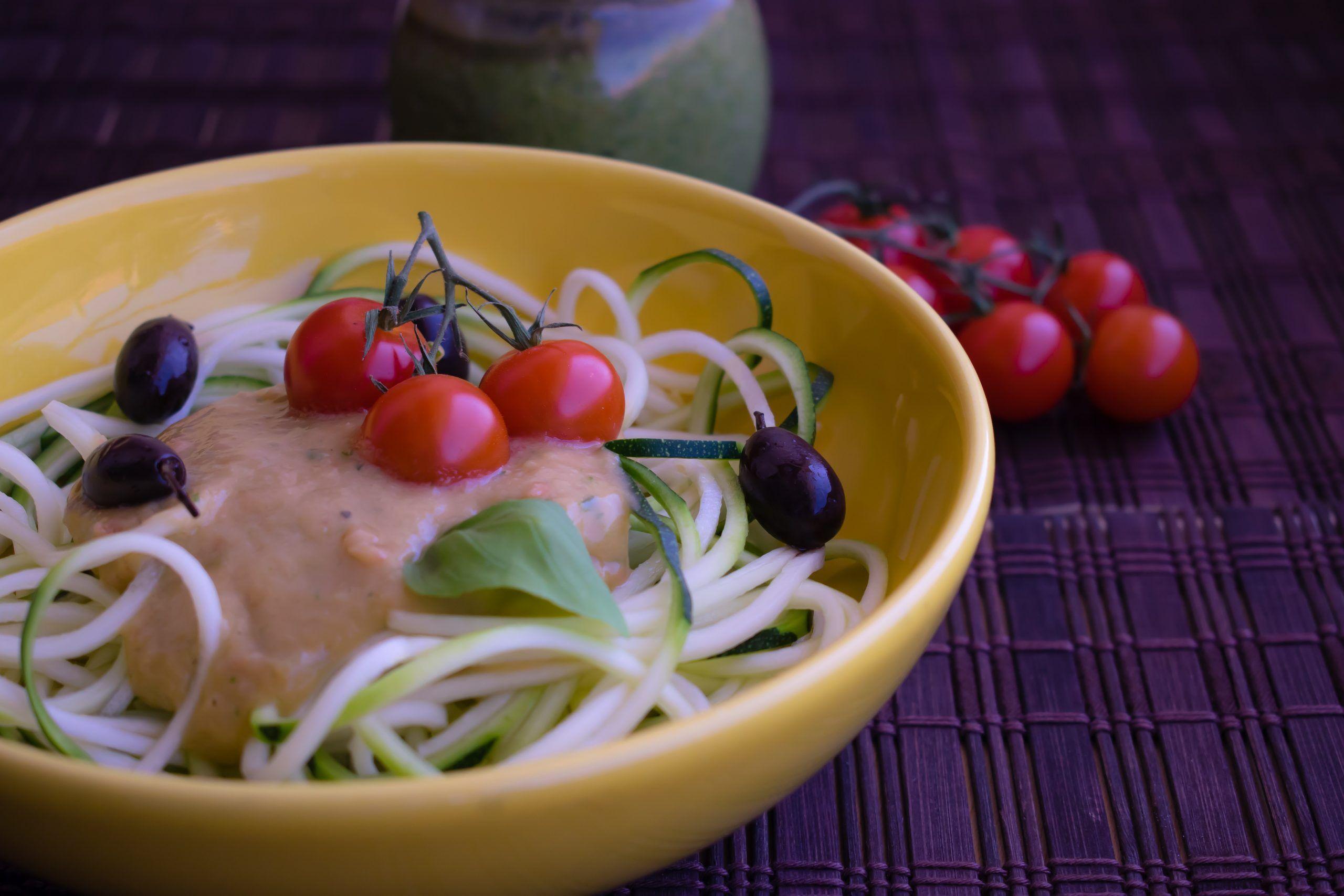 Espaguetis de Calabacín (Sin Gluten)