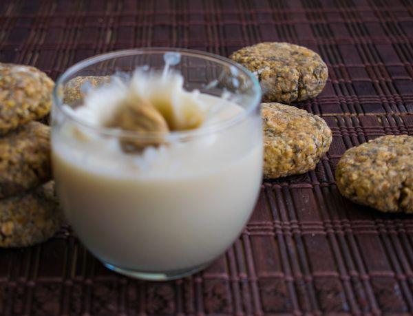 Galletas Veganas de Chía y Limón