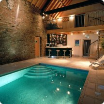 Houses with Indoor Swimming Pool Designs