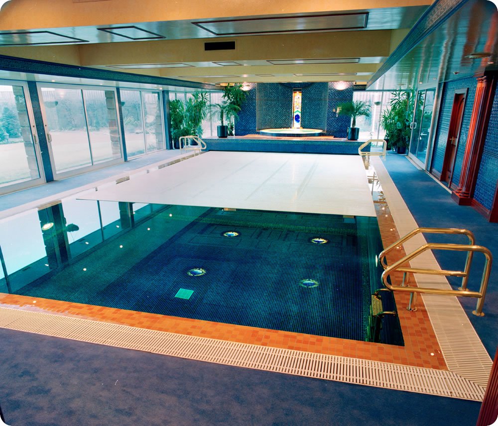 FloorsCovers  David Hallam Ltd  UK Swimming Pool Design