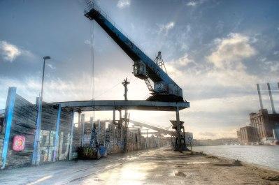 Industrial area Nordhavn, Copenhagen © David Hamilton Melby high dynamic range