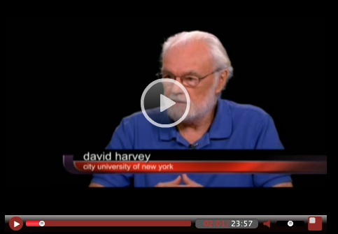 David Harvey on Charlie Rose Show PBS