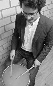 David Hernandez Deniz playing Snare Drum