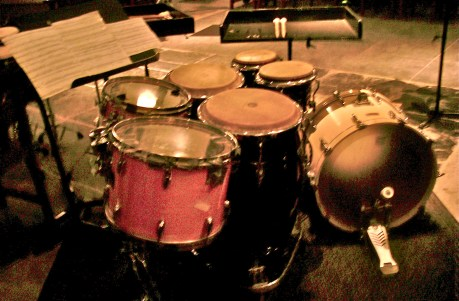 """Set for """"Side by Side"""" (Michio Kitazume) at the Amsterdam City Concerts [2009]"""