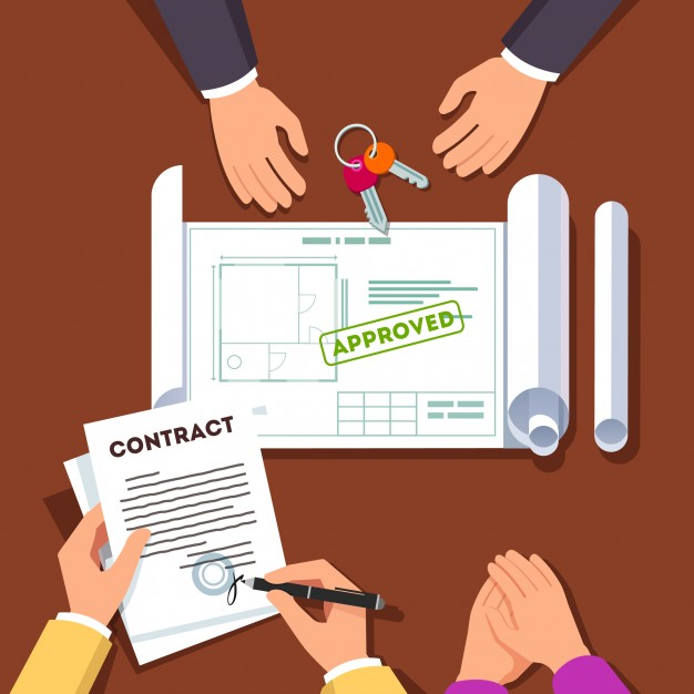 hands signing house or apartment contract 3446 635 - Construction Hire 101: 3 Things You Should Not Be Without