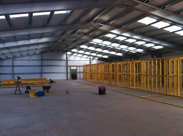 gymnasiuminternalframe 648x484 - The Benefits of Pre-Engineered Buildings Compared to Conventional Solutions