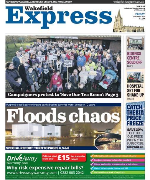 floods friday wakefield