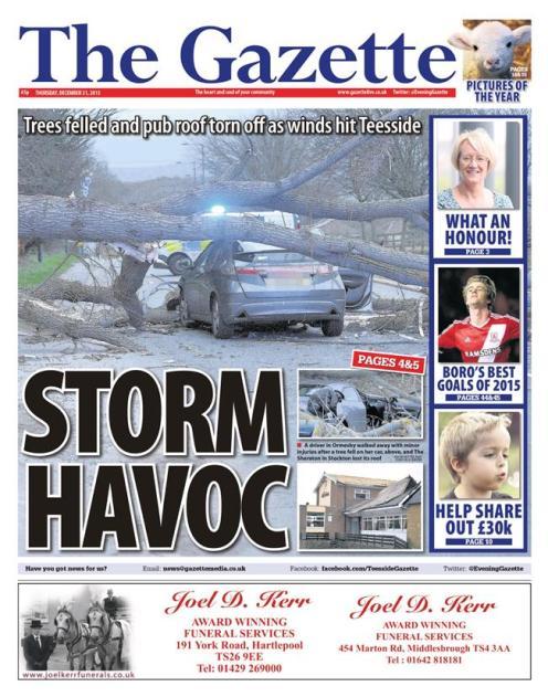 floods thurs gazette