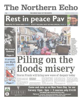 floods weds necho