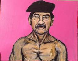 """Hot Sadam"" Acrylic on Canvas 2015"