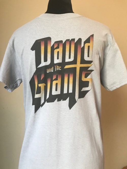 David and the Giants T-Shirts (Gray)