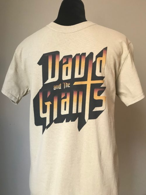 David and the Giants T-Shirts (Tan)